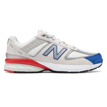 New Balance 990v5, Nimbus Cloud with Team Royal