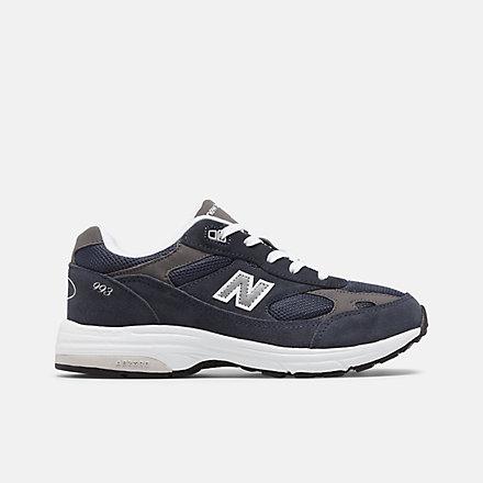 뉴발란스 993 리틀키즈 - 네이비 990v5 New Balance 993