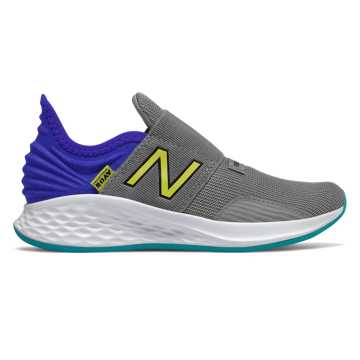 New Balance Slip-on Fresh Foam Roav, Marblehead with UV Blue & Sulphur Yellow