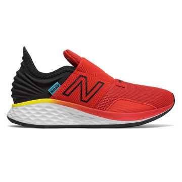 New Balance Slip-on Fresh Foam Roav, Velocity Red with Black