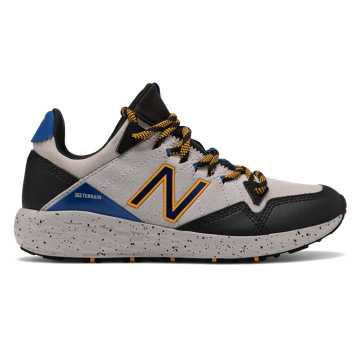 New Balance Fresh Foam Crag, Rain Cloud with Black & Team Royal
