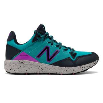 New Balance Fresh Foam Crag, Neon Aqua Blue with Eclipse & Voltage Violet