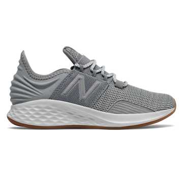 8ab16204340e2 New Balance Fresh Foam Roav, Gunmetal with White