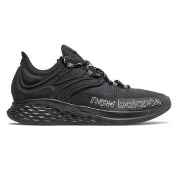 New Balance Fresh Foam Roav Trail, Black with White