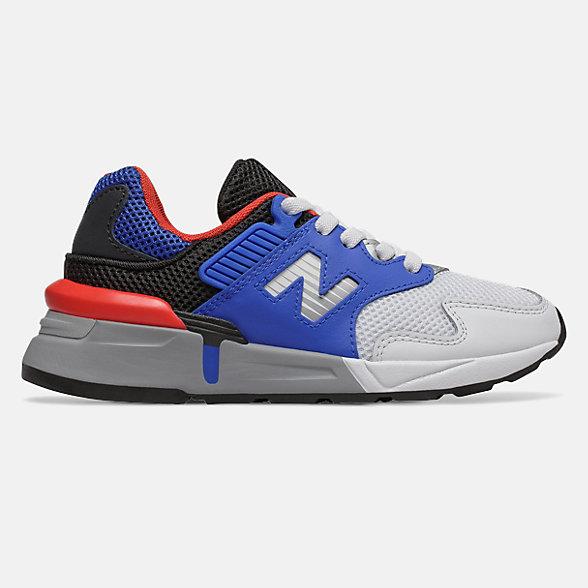 New Balance 997S系列儿童系带休闲运动鞋, PH997JCE