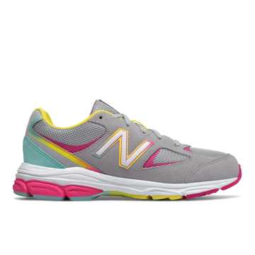 New Balance 888v2, Grey with Rainbow