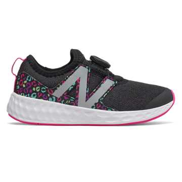 New Balance N Speed Boa, Black with Peony