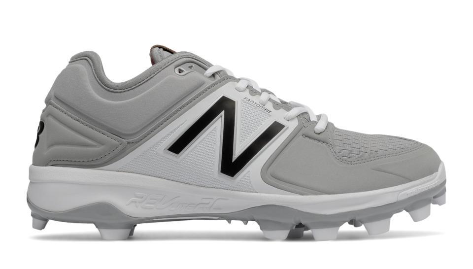 Men's New Balance 3000 V3 Low Tpu Baseball Cleats Grey/Black D72d7668