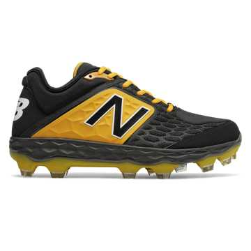 New Balance Fresh Foam 3000v4 TPU, Black with Yellow
