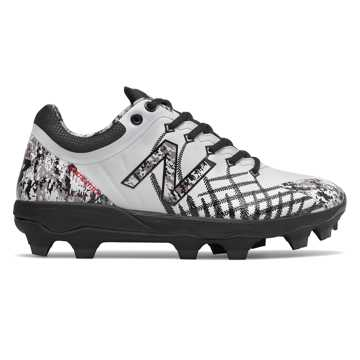 New Balance 4040v5 Pedroia TPU, White with Black Camo