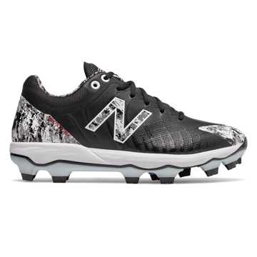 New Balance 4040v5 Pedroia TPU, Black Camo with White