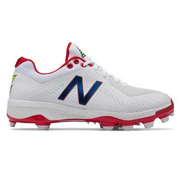 New Balance TPU 4040v4 Puerto Rico, White with Red