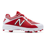 New Balance 4040v4, Molded - Red with White