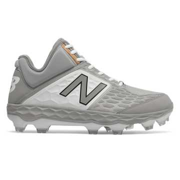 New Balance Fresh Foam 3000v4 Mid-Cut TPU, Grey with White