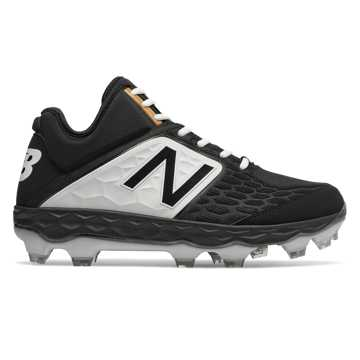 New Balance Fresh Foam 3000v4 Mid-Cut TPU, Black with White