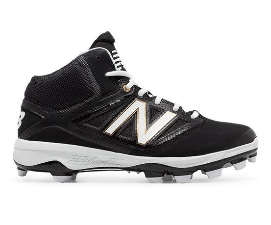 9542351072625 New Balance TPU Mid-Cut 4040v3, Black with White
