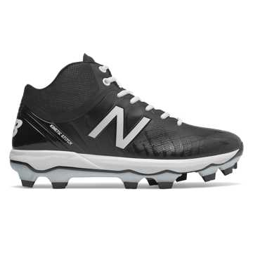New Balance 4040v5 Mid-Cut TPU, Black with White