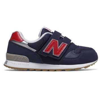 New Balance 313系列儿童休闲运动鞋, 藏青色