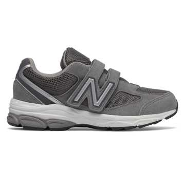 New Balance Hook and Loop 888v2, Dark Grey with Grey
