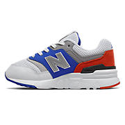 NB 997H, Vivid Cobalt with Coral Glow