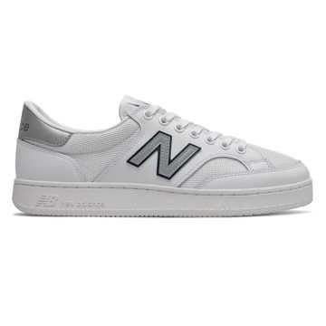 New Balance Pro Court男女同款休闲滑板鞋板鞋, 白色