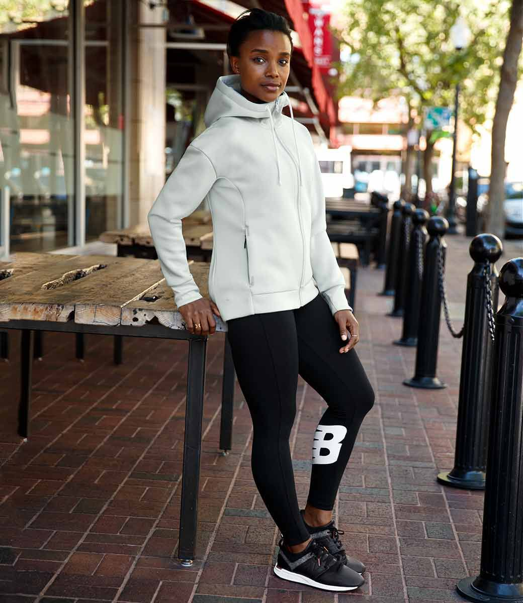 New Balance US Womens Weekend Wear Styled Structure,