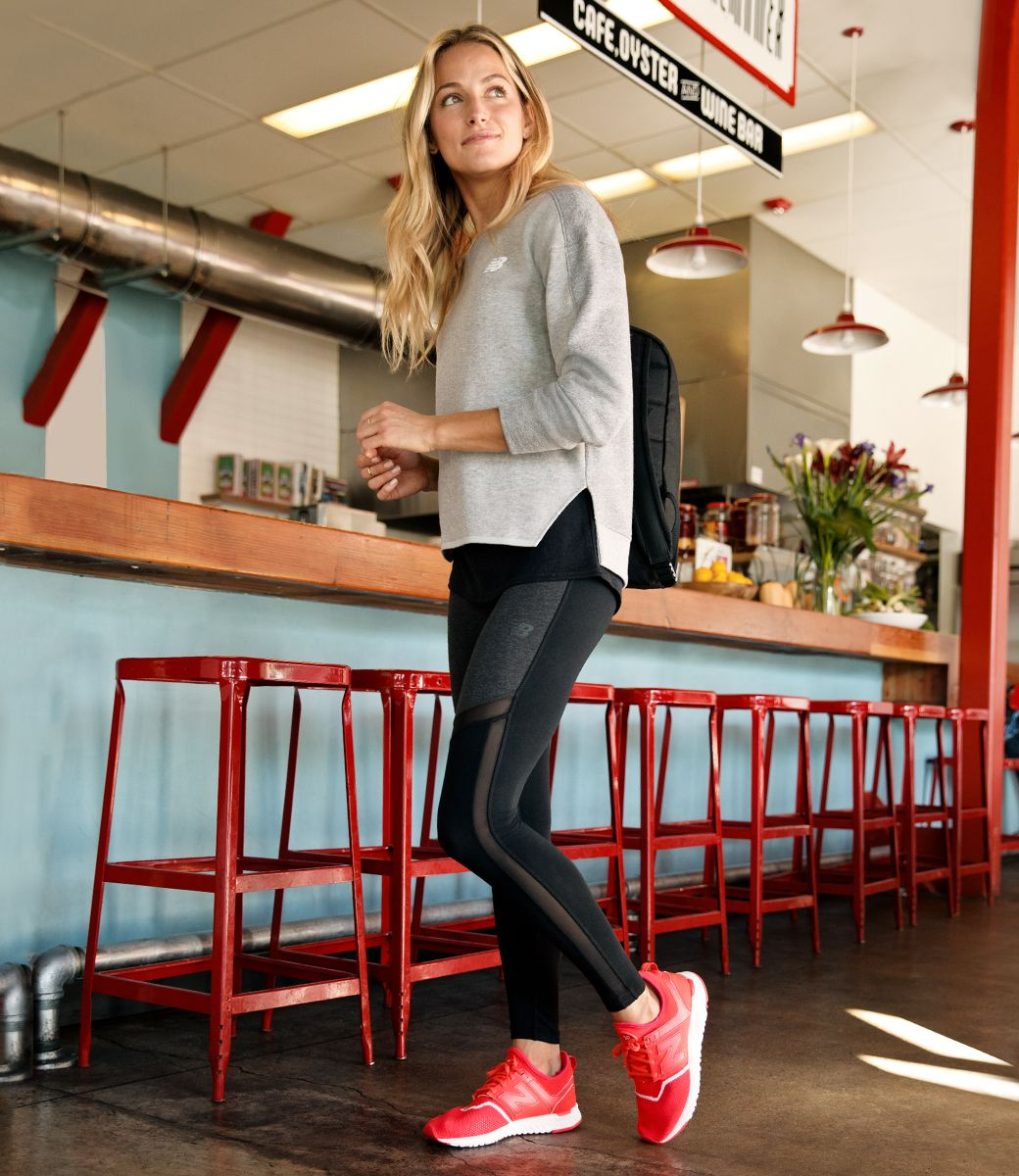 New Balance US Womens City Comforts Luxe Layers,