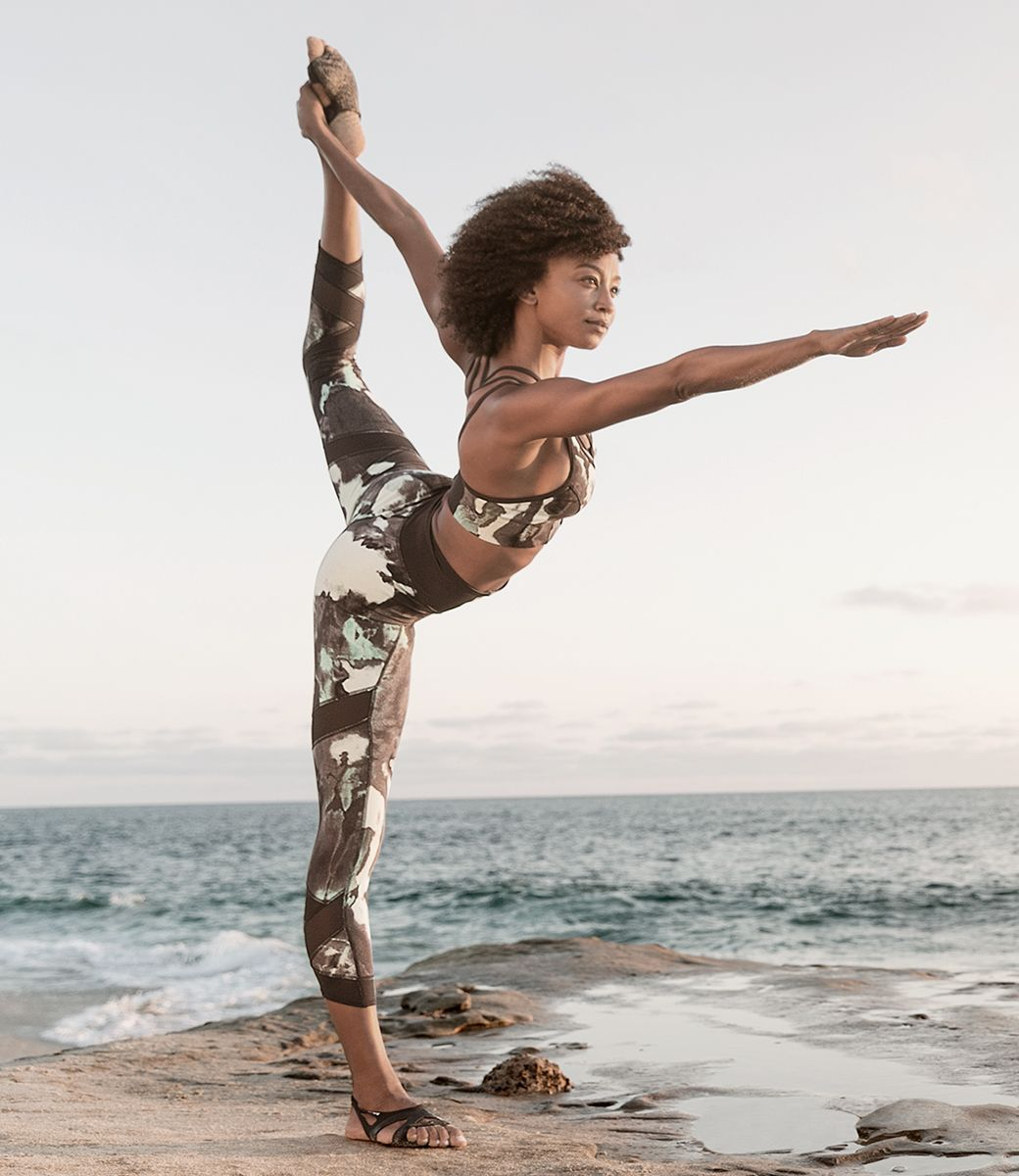 New Balance US Womens International Yoga Day Studio Print,