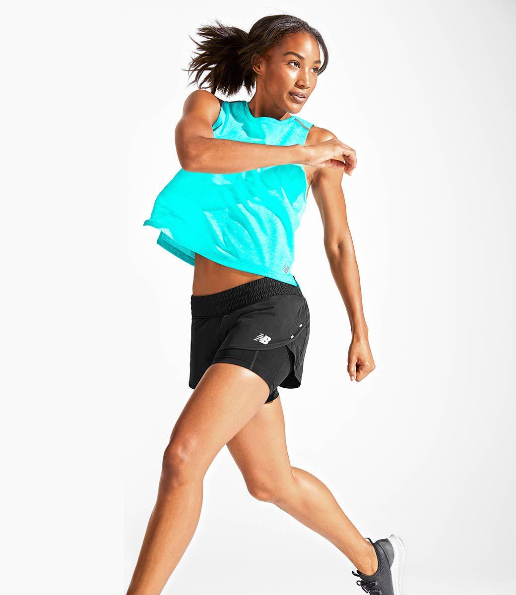 New Balance US Womens Need It Now Running Look,