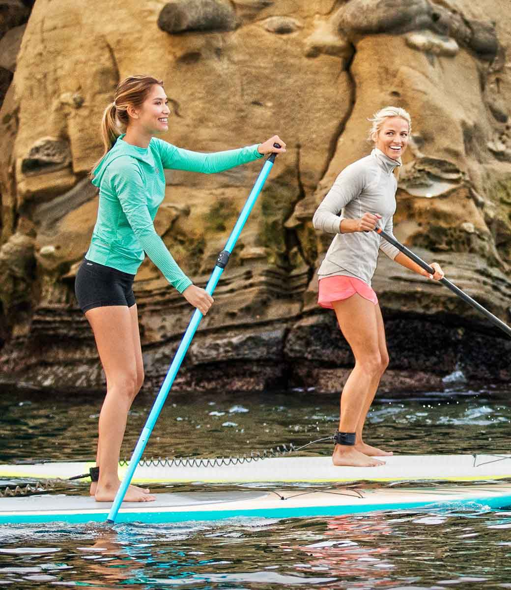 New Balance US Womens Stay Fit While You Travel Look 1,