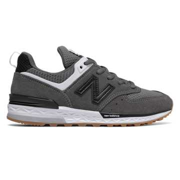 New Balance 574 Sport, Castlerock with Black