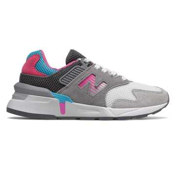 New Balance 997 Sport, Gunmetal with Light Carnival & Bayside