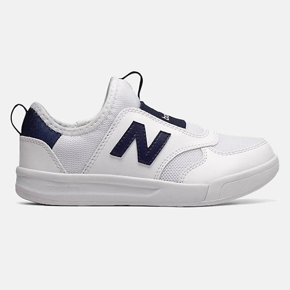 New Balance 300系列儿童休闲运动鞋, PT300WNP