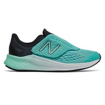 New Balance Hook and Loop Fresh Foam Fast, Black with Tidepool