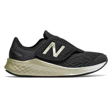 New Balance Fresh Foam Fast, Black with Gold Metallic