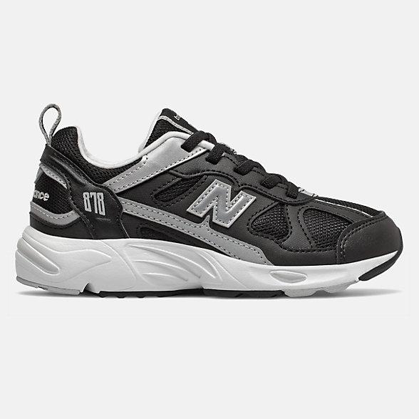 New Balance 878系列儿童休闲运动鞋, PV878KBG