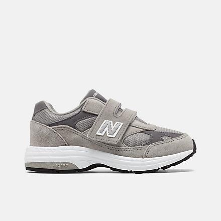뉴발란스 993 벨크로 리틀키즈 - 그레이 New Balance 993