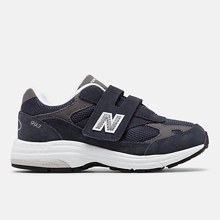 뉴발란스 993 벨크로 리틀키즈 - 네이비 New Balance 993