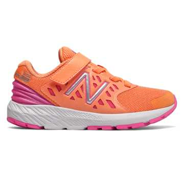 New Balance Hook and Loop FuelCore Urge, Mango with Light Peony