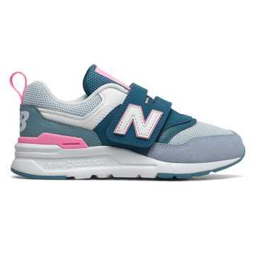 New Balance 997H 儿童亲子款休闲运动鞋  , 孔雀绿/浅蓝色