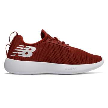 New Balance NB RCVRY, Crimson with White