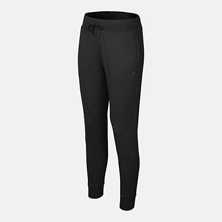 New Balance Men's Slim Leg Pant, RMP0227BK image number null