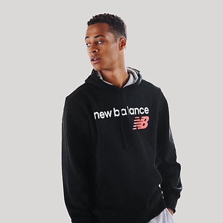 New Balance Fleece Hoodie, RMT0129BK image number null