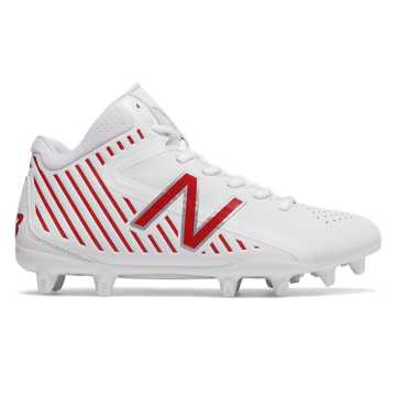New Balance RushLX, White with Red