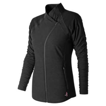 New Balance Pink Ribbon Anticipate Jacket, Black