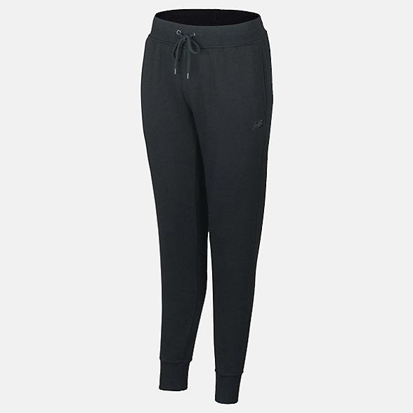 New Balance Fleece Pant, RWP9128BK