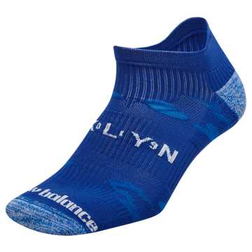 New Balance Brooklyn Half Tab Sock, UV Blue with Munsell White