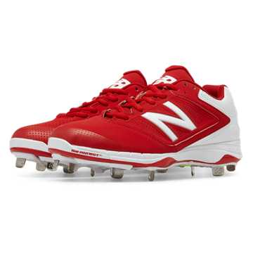 New Balance Metal 4040v1, Red with White