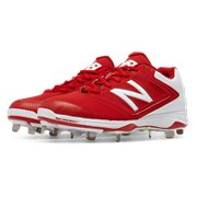 fff026e782a0c Women's Softball. Expand. New Balance Metal 4040v1, Red with White