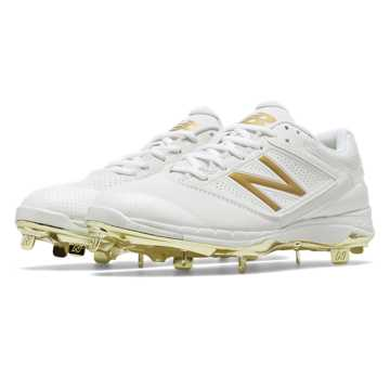 New Balance 4040v1 Gold, White with Gold